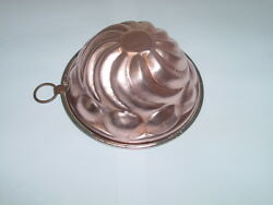 Beautiful Antique French Copper Cake Mold 1900