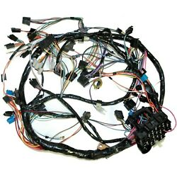 1981 Corvette C3 Dash Wiring Harness With Automatic Transmission 697316