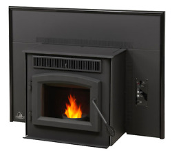 Timberwolf by Napoleon ECO TPI35 Pellet Stove Insert Rear Vent Cast Iron Blower