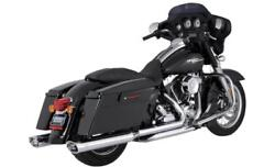 Vance And Hines Dresser Duals Headers Harley Touring 2009-2016