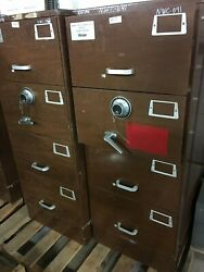 Gsa Mosler Safe Security Container 4-drawer File Cabinet