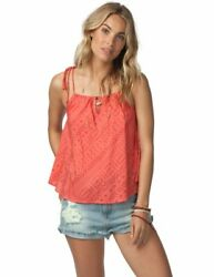 Rip Curl Womenand039s Cayman Cami Top Coral Medium M - Gshct7