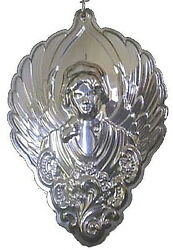 2003 Wallace Grande Baroque Angel Sterling Christmas Ornament 3rd Edition