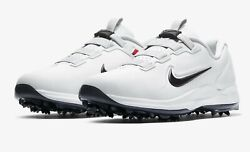 New Nike Air Zoom Tw71 Mens Golf Shoe Tiger Woods Fastfit Cd6300-100 Close Out
