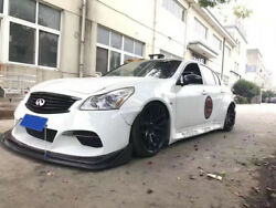 For Infiniti G37 4 Door Tp Style Frp Front And Rear Fender Mudguards And Side Skirt