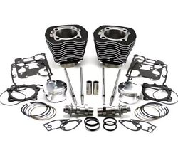 Sleeper 103 Kit For 07-up 96 Bt With Red Cam Shift 252 Cam Silver Finish