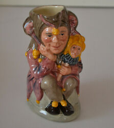 Royal Doulton And039and039the Jesterand039and039 Limited Edition Toby Mug