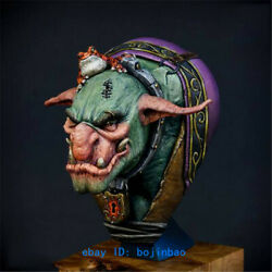 Beast Head With Frog 1/9 Scale Unpainted Bust Statue Model Kits Figure