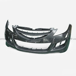 For 07-12 Mazda 6 GH1 ATE Style FRP Fiber Glass Unpainted Front Bumper Parts