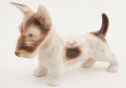 Royal Dux Porcelain Scottie Scottish Terrier Dog Figurine(B3R)Jack Russell Lucas
