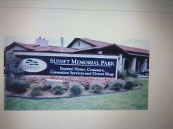 Cemetary Plots.four Plots Price To Sell Sunset Memorial Park