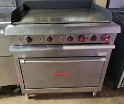 Vulcan Flat Top Grill 36 With Oven