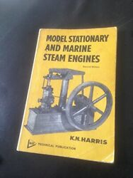 Model Stationary And Marine Steam Engines By Harris, Kn