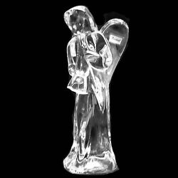 Angel By Baccarat With Trumpet Figurine 6 Made In France New Never Sold 762575