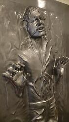 LIFE FULL SIZE HAN SOLO IN CARBONITE