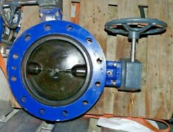 Ksb Isoria 10 Amri Disc Butterfly Valve 3g6k3pxa Dn250 10 Gearbox Mr50 And Handle