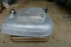 1954 Wards Sea King 12 Outboard Gas Tank And Engine Puller