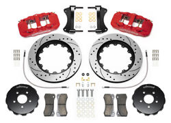 Wilwood Aero6 Front Big Brake Kit,fits Audi A4,a5,s4,s5,6 Piston,14 Drilled Rot