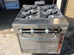 Southbend 4 Burner/Range Convection Oven, Gas, Refurbished, Excellent Condition
