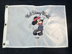 Mickey Mouse Walt Disney World Southern Screen And Embroiddery Golf Pin Flag