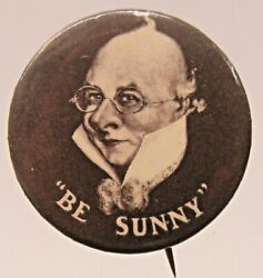 Scarce Circa 1905 Sunny Jim From Force Cereal Pinback Button