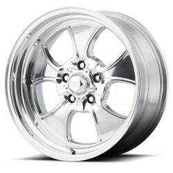 17x8 American Racing Hopster 5x114.3 Et-12 Polished Rims Set Of 4