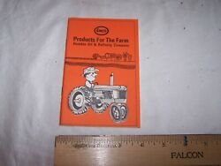 1964 Humble Oil And Refining Company Products For The Farm Enco Gas Oil