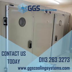 Walk In Cold Room 1200 X 1500 X 2200 With Cooling Unit And Floor 4` X 5`