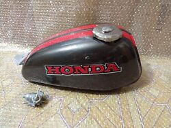 1973 Honda Xr75k0 Xr 75 K0 Steel Reproduction Gas Tank Fuel.
