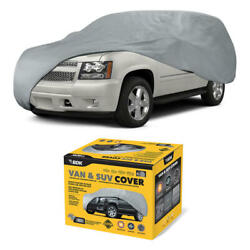 Van And Suv Car Cover Bdk Breathable Heat Dust Dirt Scratch Universal Protection