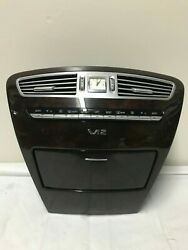 07-13 MB W216 Complete Center Dash Console Climate Control Clock Vent OEM V12