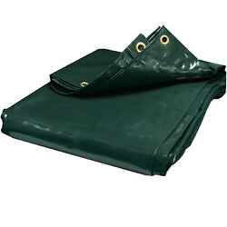 30 Mil Industrial Canopy Tarp Green Pvc Tent Car Boat Cover 10 Off 2+