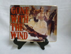 Gone With The Wind The Courage Scarlett And Rhett Bradford Exchange L/e Plate