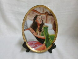 Gone With The Wind Emerald Elegance Cameo Memories Bradford Exchange L/e Plate