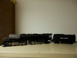 MTH Rail King Union Pacific Big Boy Steam Engine 30-1129  # 4020 + 2 VCR tapes