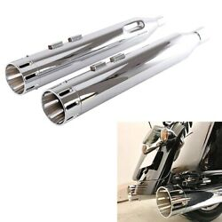 Sharkroad 4.5 Slip Ons For Harley Touring Exhaust 2017-up Street Glide Mufflers