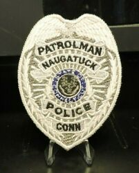 Patch Retired Naugatuck, Connecticut Police Department Badge Patch