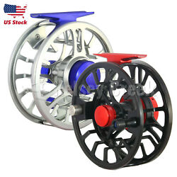 Maxcatch Nvc Fly Reel 5/6/7/8wt Wide Arbor Large Capacity Cnc-machined