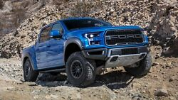 2019 Ford F-150 Raptor Blue Poster 24 X 36 Inch