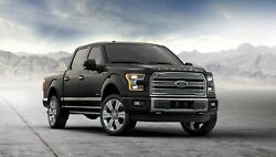 2019 FORD F 150 HD Black POSTER 24 X 36 INCH