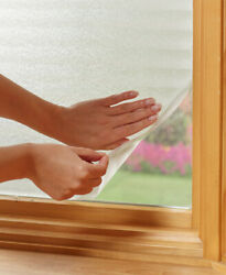 Peel and Stick Privacy Films Windows Cover Design Allows Natural Light View New