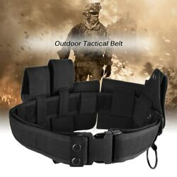 Outdoor multifunctional Tactical Belt Law Enforcement Modular Security Military