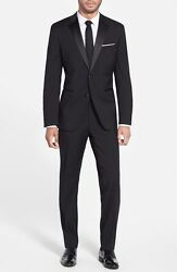 346 Hugo Boss The Stars75/glamour3 Two Button Tuxedo Size 44 R
