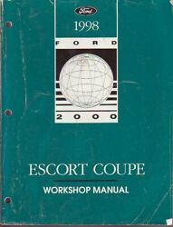1998 Ford Escort Coupe Factory Shop Service Manual