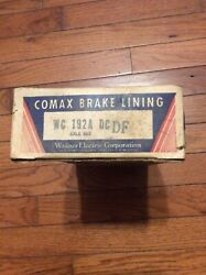 1946-1953 Desoto-dodge Cars And Trucks Brake Lining Wc192a New Old Stock