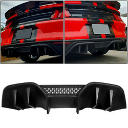 For 15-17 Ford Mustang Rtv2 Style V2 Rear Diffuser Valance For Non Premium Pp