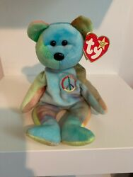 Peace Ty Beanie Baby 1996 Extremely Rare Errors