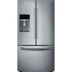 Samsung Rf28hfedbsr 36 French Door Refrigerator Stainless Steel Great Condition