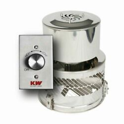 Kutzner 120vac High Temperature Exhaust Fan W/adapter And Controller - 1.6 Amps