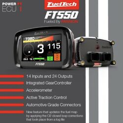 Fueltech Ft550 Efi Ecu W/harness In Stock Ready To Ship Asap